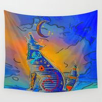 howl Wall Tapestries featuring Howl Mystic by BohemianBound