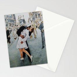 VJ Day Kiss Stationery Cards