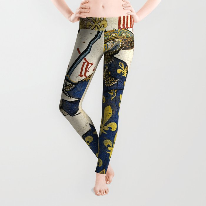 Golden Fleece King of France Leggings