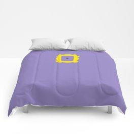 Friends Peephole Frame Comforters
