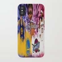 basketball iPhone & iPod Cases featuring Basketball  by RickART