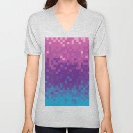 Pixel color Unisex V-Neck