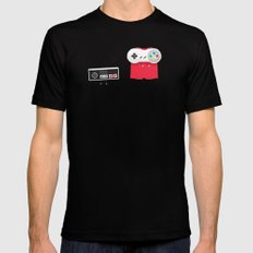Let's Be Super Together MEDIUM Black Mens Fitted Tee