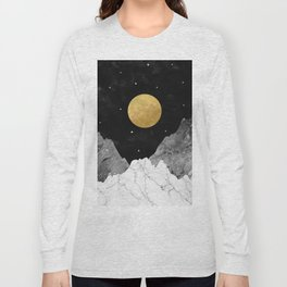Moon and Stars Long Sleeve T-shirt