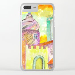 Fairy Tale Clear iPhone Case