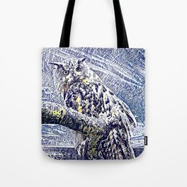 Moonlight and Frost Tote Bag