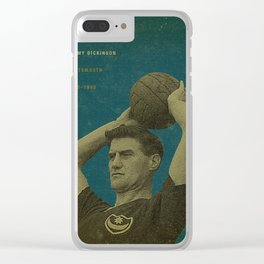 Portsmouth - Dickinson Clear iPhone Case