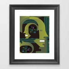 Nike and Neptune Framed Art Print