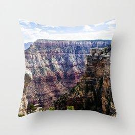 Grand Canyon South Rim Throw Pillow