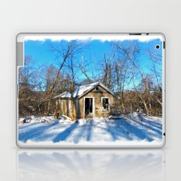 Old House in the Snow Laptop & iPad Skin