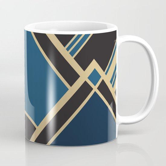 Art Deco New Tomorrow In Blue Coffee Mug