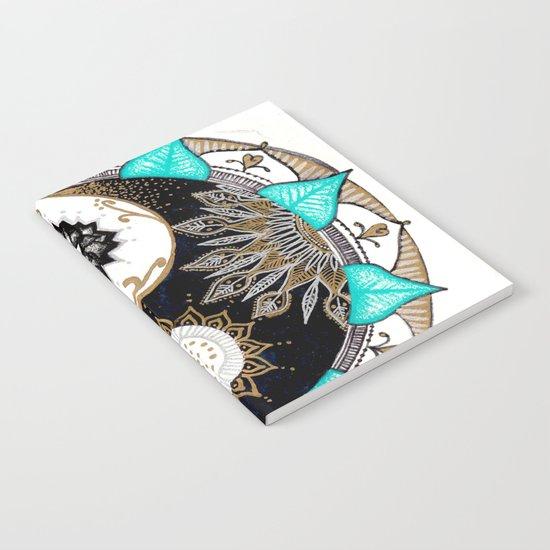 Yin and Yang Mandala Notebook