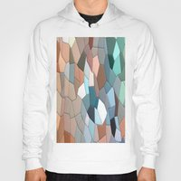 mosaic Hoodies featuring mosaic  by  Agostino Lo Coco