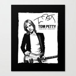 Tom Petty Canvas Print