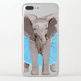 The Fanciest Elephant Clear iPhone Case