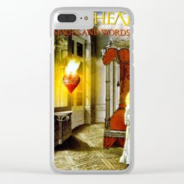Dream Theaters Images and Words Clear iPhone Case
