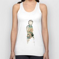 grimes Tank Tops featuring Rick Grimes by Cassius