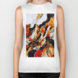 Stonescape Abstract Biker Tank