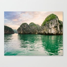 Halong Bay Vietnam Canvas Print