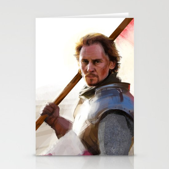 """""""Once More unto the Breach"""" Stationery Cards"""
