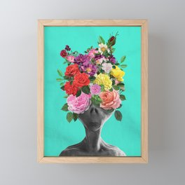 Alien Bouquet  Framed Mini Art Print