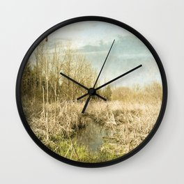 Peace and Solitude.   Wall Clock