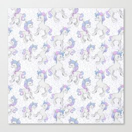Unicorn Sparkles Canvas Print