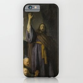 The Raising of Lazarus iPhone Case