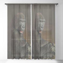 Gorilla Lope Sheer Curtain