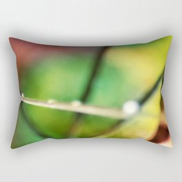 Autumn Droplets Rectangular Pillow