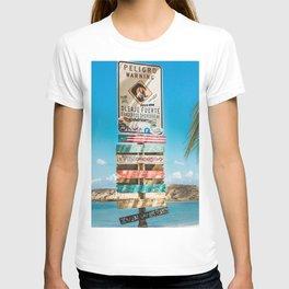 Beach Sign T-shirt
