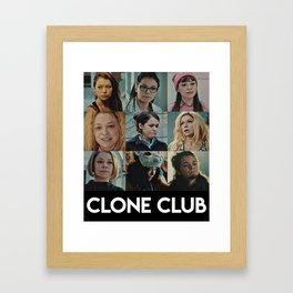 Clone Club - Orphan black Framed Art Print