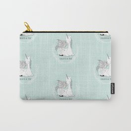 I believe in you Unicorn Pattern Carry-All Pouch