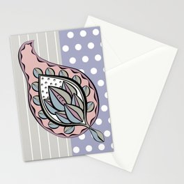Pastel Paisley Stationery Cards