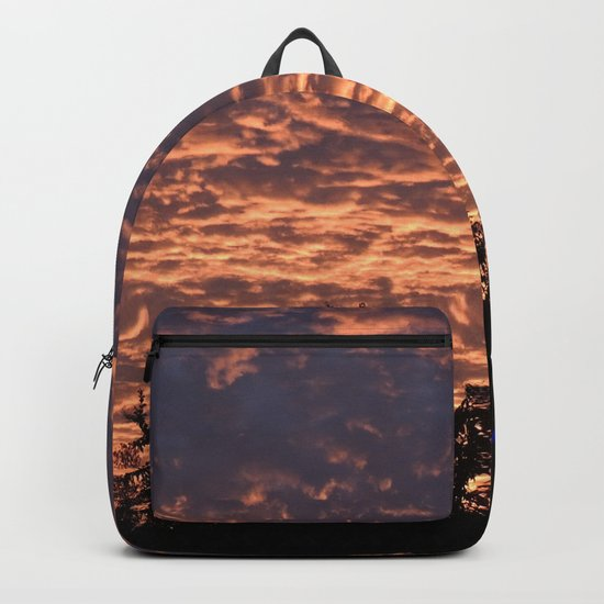 Atmospherics Number 2: Sunset from Costco San Dimas Backpack