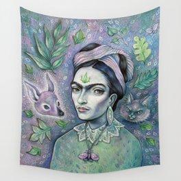 Magical Girl Frida Wall Tapestry