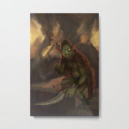Goblyn Chief Metal Print