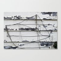 the wire Canvas Prints featuring Wire  by Ethna Gillespie