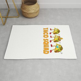 Taco Mexican Food.Squad Cute Tacos Lover Kids  Rug