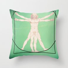 Vitruve Throw Pillow