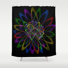Abstract perfektion 79 Shower Curtain