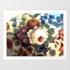 Porcelaine Art Print