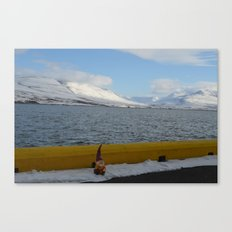 Gnome in Akureyri Canvas Print