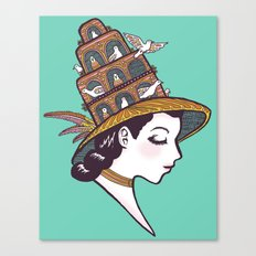 Bird House Couture Canvas Print
