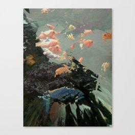 aquaglitch Canvas Print