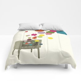 Colour Television Comforters