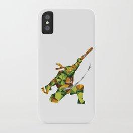 Nunchaku Turtle iPhone Case