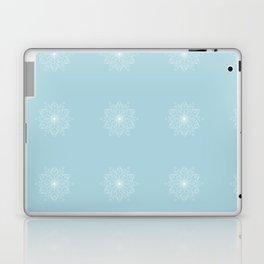 Geometric Blue Glow Laptop & iPad Skin