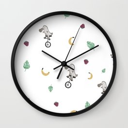 Platypus pattern Wall Clock