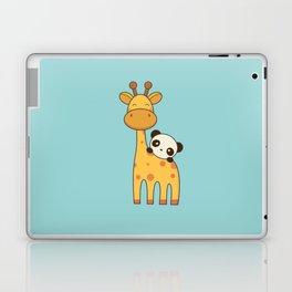 Cute and Kawaii Giraffe and Panda Laptop & iPad Skin